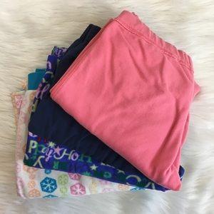 Pants - Set of loungewear / pajama bottoms